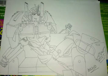 Sexy Optimus Prime by Ana Smith by sonicboomgamer