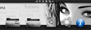 Kycons-Kde-icon-theme by Simply-The-Frankie