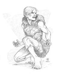 A Shifter Barbarian by Everwho