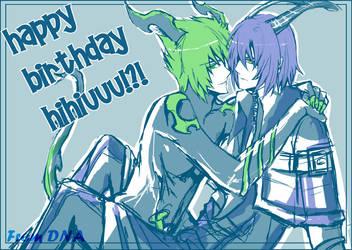 happy birthday to hihiuuu by DNAyuki