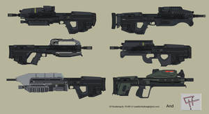 Halo Rifles by GoGlhEaD