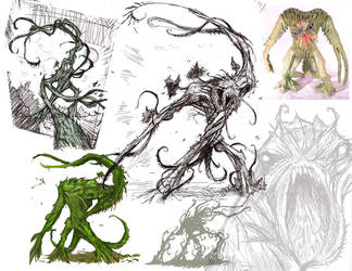 Tendril Ideas by ArcherMonster