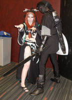 Midna and Dark Link by Akordia