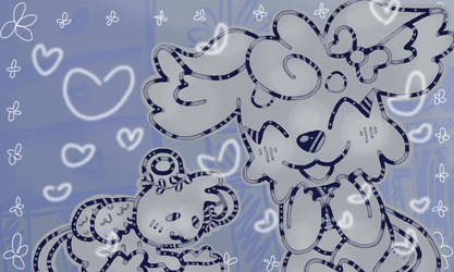 Lacie loves Lilac :3 by Rosebvd