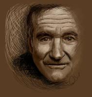 Robin Williams by chucker19
