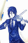 That Butler, The Violinist by TheKikkaKibaz