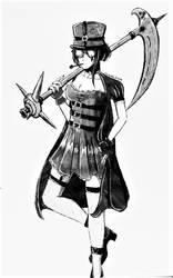Ripper Killer (Adopt) by TheKikkaKibaz