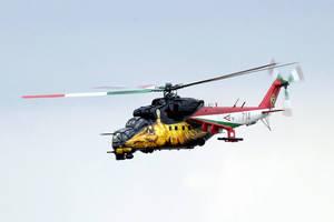 Mi-24 Golden Hind by cnv