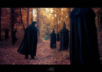 Capuche et silhouette by AleKDust