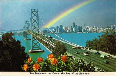 Oakland Bay Bridge by haloeffect1