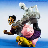 Majin Boo on the Rampage by jeffbedash325