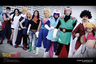 Dragonball Z cosplay Z Group by jeffbedash325