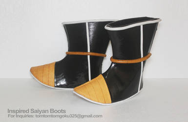 Nappa and Raditz Saiyan Boots by jeffbedash325