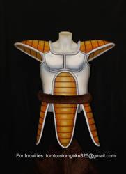 Dragonball Z Vegeta armor by jeffbedash325