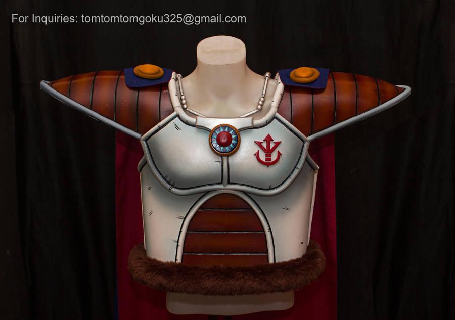 King Vegeta of Dragonball Z by jeffbedash325
