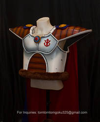King Vegeta of Dragonball Z Costume by jeffbedash325