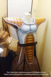 Saiyan Armor by jeffbedash325