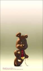 Arthur The Bear by rlaing