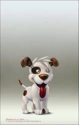Fred The Dog by rlaing