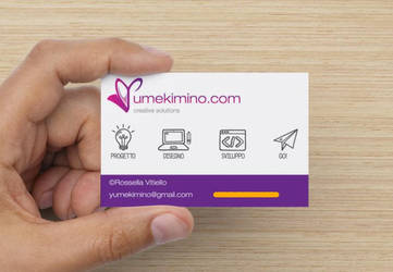 New Business Card by YumeKimino