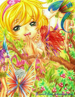 Hello Miss Fairy by Florineil-chan