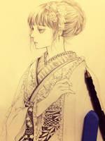 Kimono by Florineil-chan