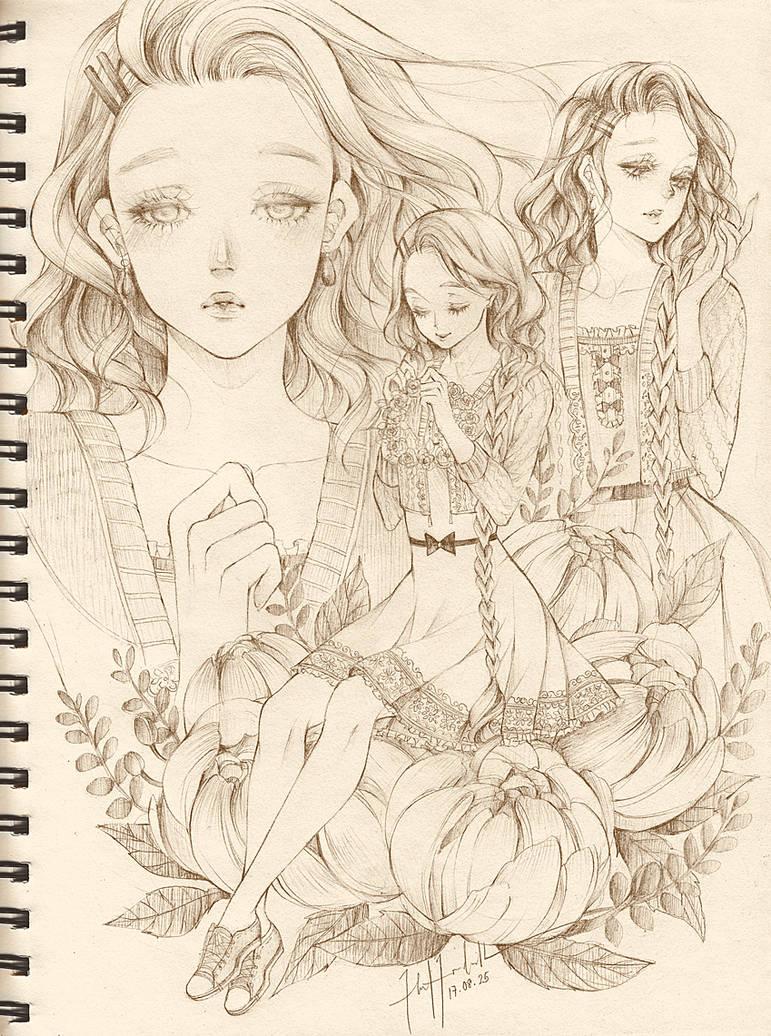 COMM:  Chaya by Florineil-chan