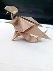 Origami dragon III by OldCook