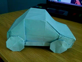 Origami Car - Fiat 126p by OldCook
