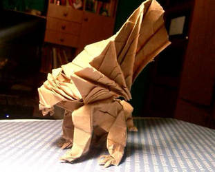 Origami Gryphon ^^ by OldCook