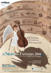 A Night in Fantasia poster by pei