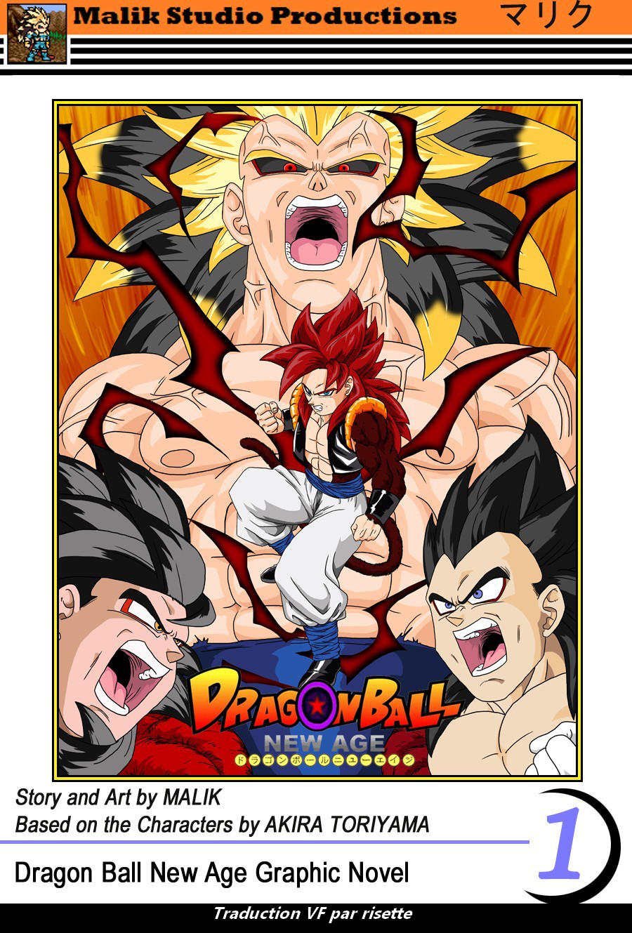 DBNA French Rigor Saga Cover Remastered by Avelios