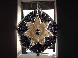 Failed bag becomes a curtain by Avelios