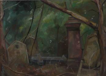 Nunhead Graveyard by DeaBellona