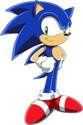 Sonic the Hedgehog by TheLeoNamedGeo