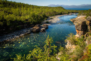 Abisko river by mabuli