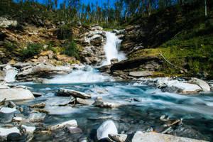 Abisko waterfall by mabuli