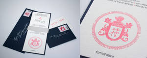 J and P wedding invite by deluxe5584