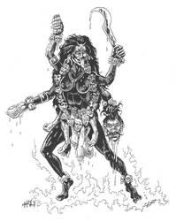 Kali Ma by chukbaldok