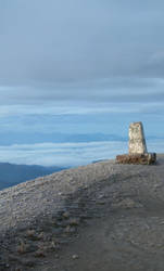 Ecuador - Pichincha Cairn by aileen