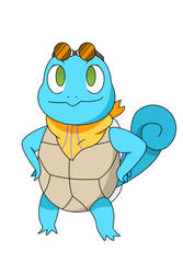 Mira the Squirtle by King-0f-Pirates