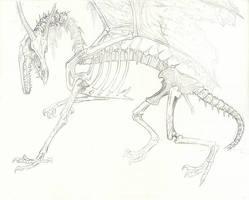Undead Dragon by YikYik