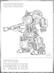 WFC Optimus Prime by TifaFinsterherz