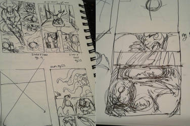 Thumbnail Sketches [HWM and Silver and Gold] by ReineofAberrants