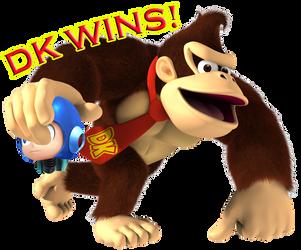 DK vs Mega Man ~ DK Wins! by Poyzund