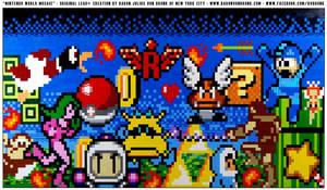 LEGO Nintendo World Mosaic by VonBrunk