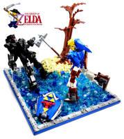 Dark Link Battle by VonBrunk
