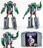 Robo Fett by VonBrunk