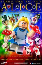 Alice: A LEGO Adventure in Wonderland Poster by VonBrunk