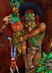 Mayan Gods, a Revenge by imperator-antea